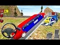 Police Car Offroad Transport Truck - Kids Games Android GamePlay