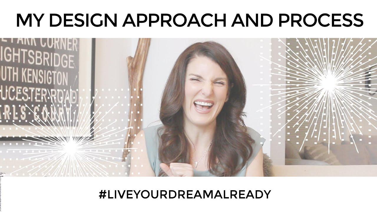 ★ My Design Thinking + Design Process ★ #LiveYourDreamAlready