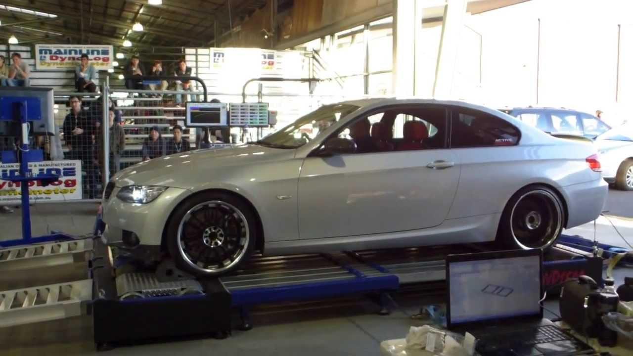 BMW 3 Series Coupe E92 335i Dyno Engine Sound 5th Generation