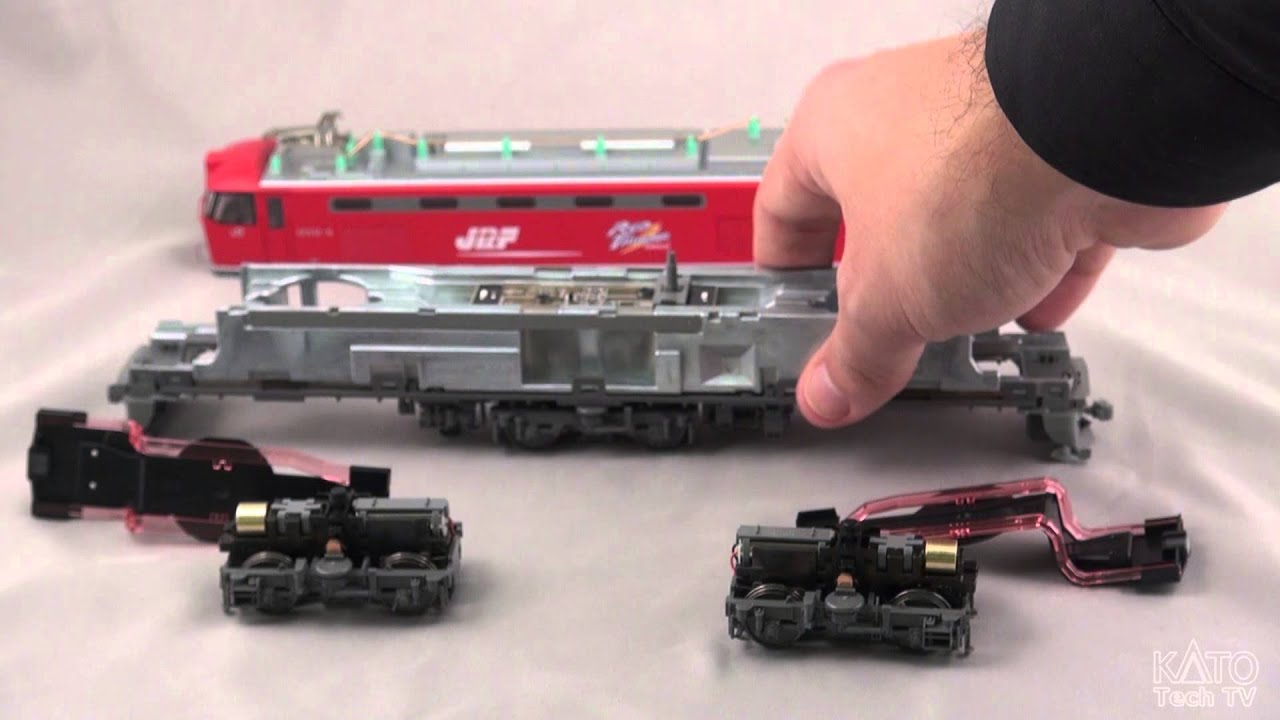 [Kato USA Tech Corner] - New HO scale mechanism sneak peak