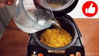 У Вас есть макароны Залейте их водой и добавьте фарш Вкусный обед или ужин в мультиварке готов
