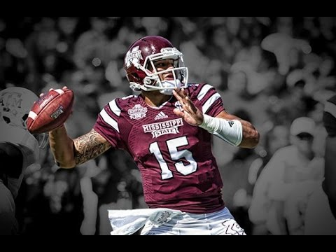 premium selection a377d 0125e Dak Prescott Highlights 2015 || Dak Attack || Mississippi St. QB