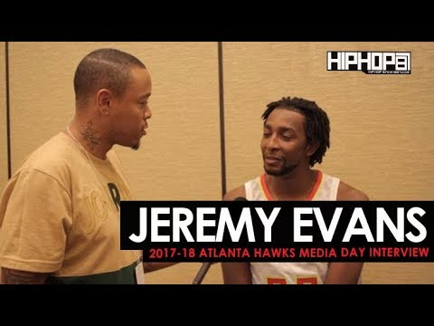 Jeremy Evans Talks the 2017-18 Atlanta Hawks, NBA 2K18, Painting & More (Media Day with HHS1987)
