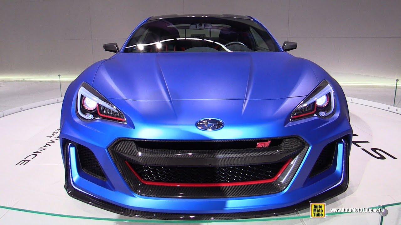Subaru Brz Sti Performance Concept Turnarond 2017 New