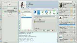 Amarok Playlist Layout Tutorial Screencast