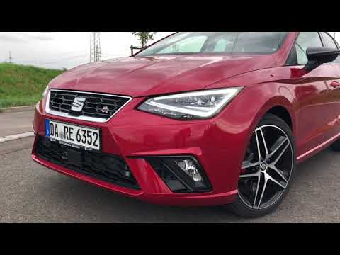 2018 SEAT Ibiza FR - 1.5 TSI (150 PS) - Desire Red - Exterior Interior Look and Sound