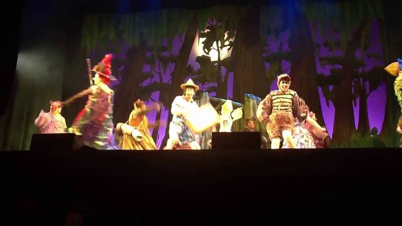 Shrek The Musical National Tour 2012