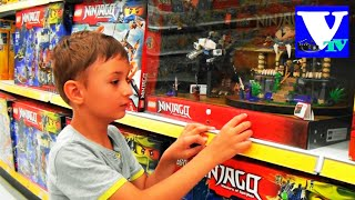 ★ VLOG Магазин игрушек: ЛЕГО НИНДЗЯГО. Lego Ninjago shopping
