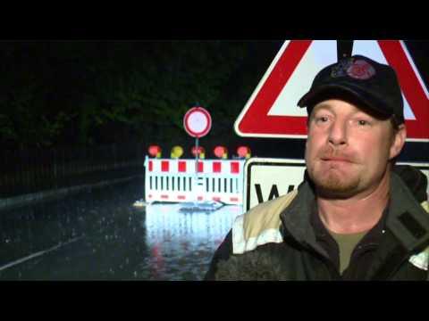 Katastrophenalarm wegen Hochwasser im Tegernseer Tal