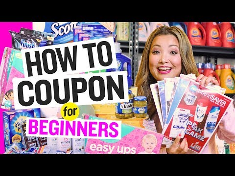 How To Coupon For Beginners (2020) ✂️ Extreme Couponing 101