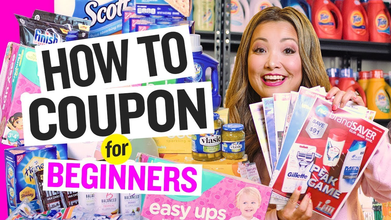 How To Coupon For Beginners 2020 Extreme Couponing 101 Youtube
