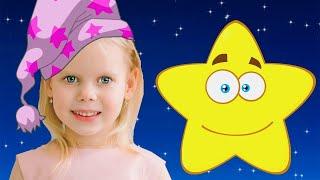 Twinkle Twinkle Little Star ! Song Nursery Rhyme by Vitalina for kids !