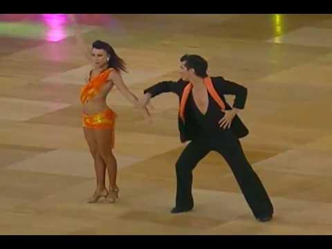 Oliver Pineda & Luda Kroiter (On 2 Devision) (World Salsa Championships)