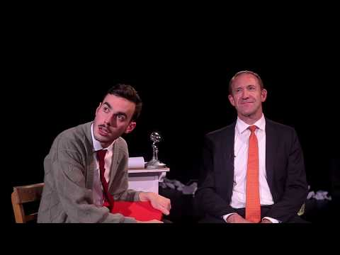 Robbie Interviews Andrew Little | White Man Behind A Desk
