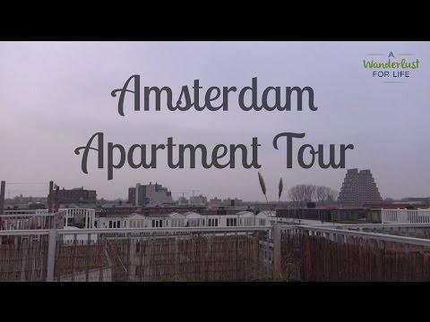 Apartment Tour In Amsterdam