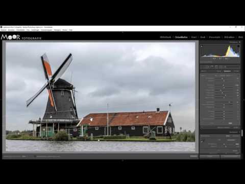 Fotobewerking Zaanse molen in Lightroom