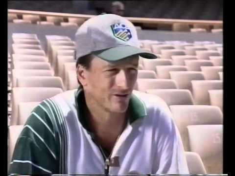 WAUGH TWINS interview 1995/96 Steve Waugh Mark Waugh- AWESOME!