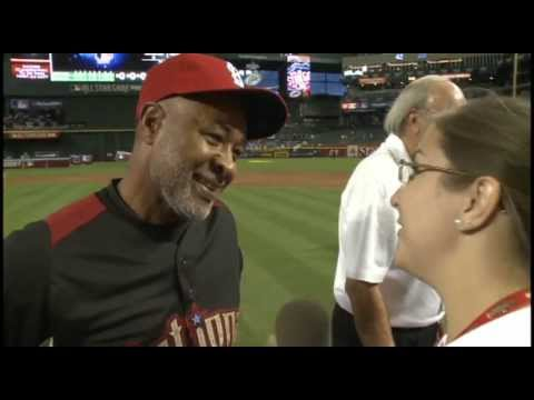 Cardinals Ozzie Smith interview at 2011 All Star Game