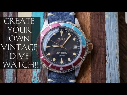 Insane Vintage Inspired Watches By WMT | Phenomenal Fully Customizable Timepieces By Walter Mitt