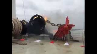 Anchor drop total failure, the loss of an anchor on the ship