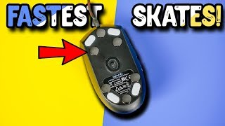 These are the FASTEST Mouse Skates! Lexip CERAMIC Mouse Feet!