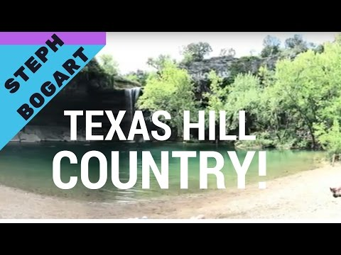 TEXAS HILL COUNTRY VACATION!
