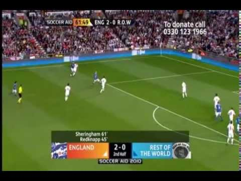 Zinedine Zidane Vs. England Soccer Aid 2010
