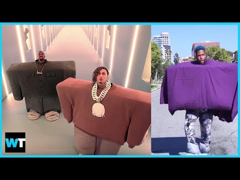 Kanye West and Lil Pump Inspire The #ILOVEITCHALLENGE!