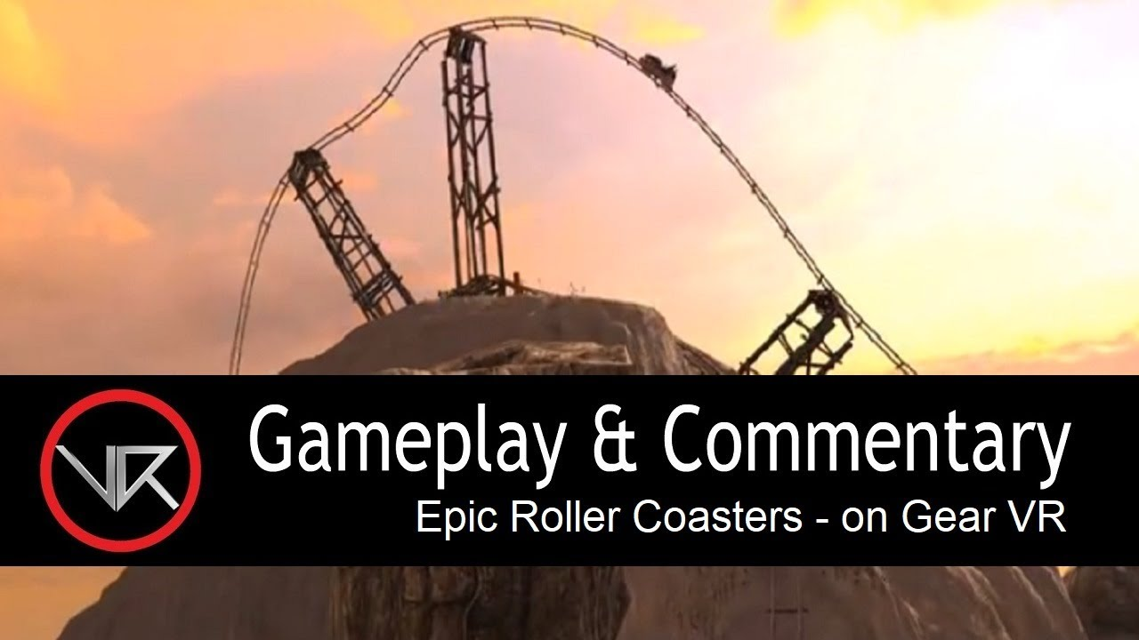 845f30289e1c The VR Shop - Epic Roller Coasters - Gear VR Gameplay - YouTube