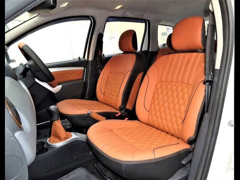 renault duster car seat covers designs duster interior accessories youtube. Black Bedroom Furniture Sets. Home Design Ideas