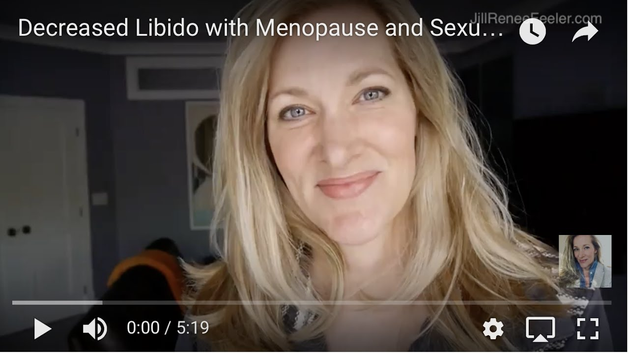 increased sexuality during menopause