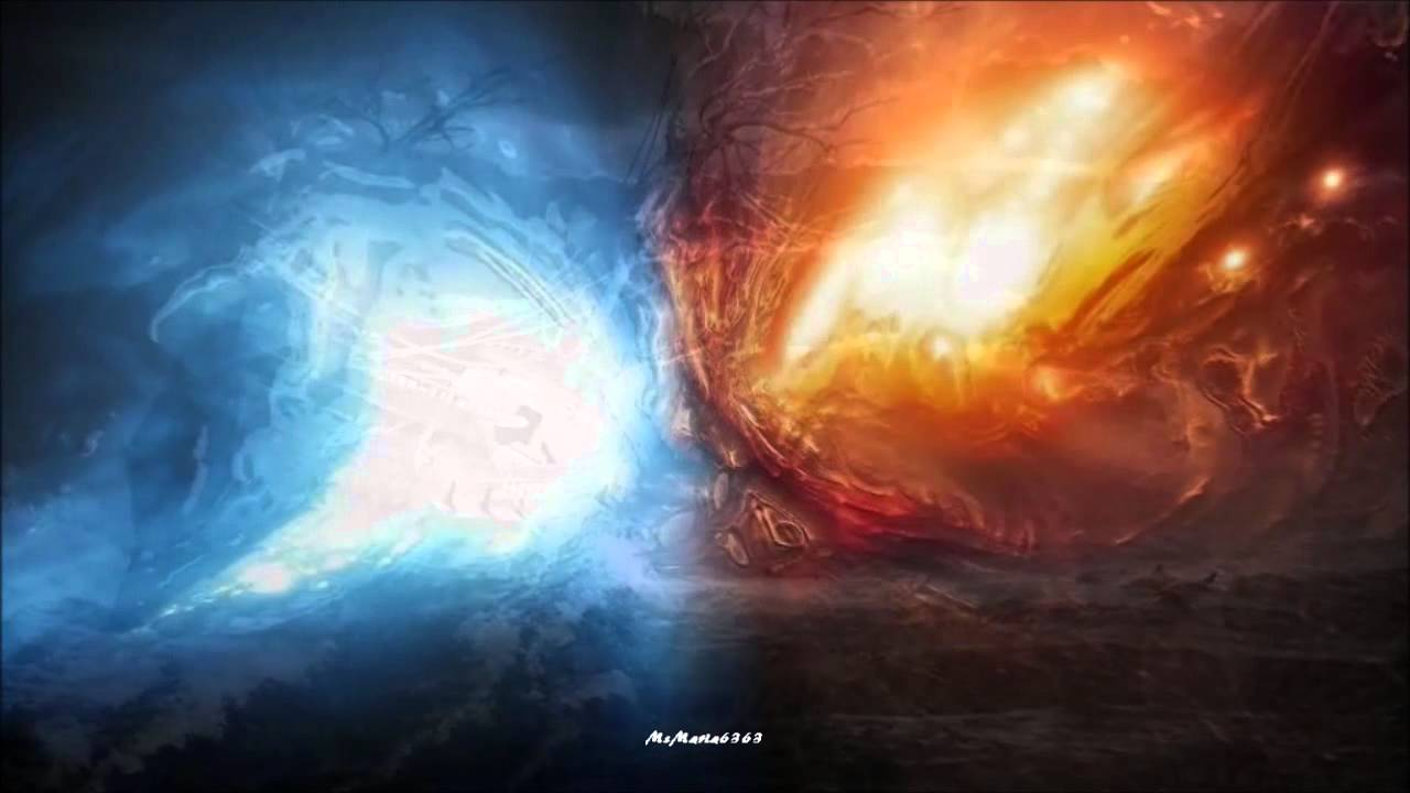 Yin And Yang Wallpaper Hd Fire Ice Dragons In The Sunset Hd Hq Lyrics Youtube
