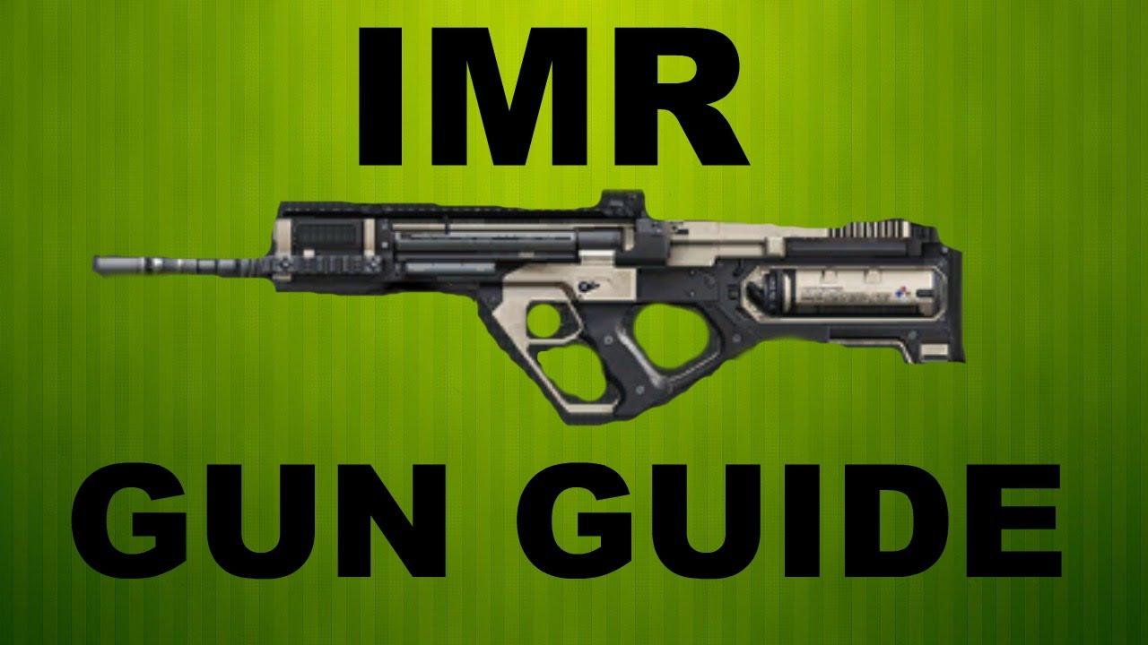 Advanced warfare imr assault rifle gun guide and class set up