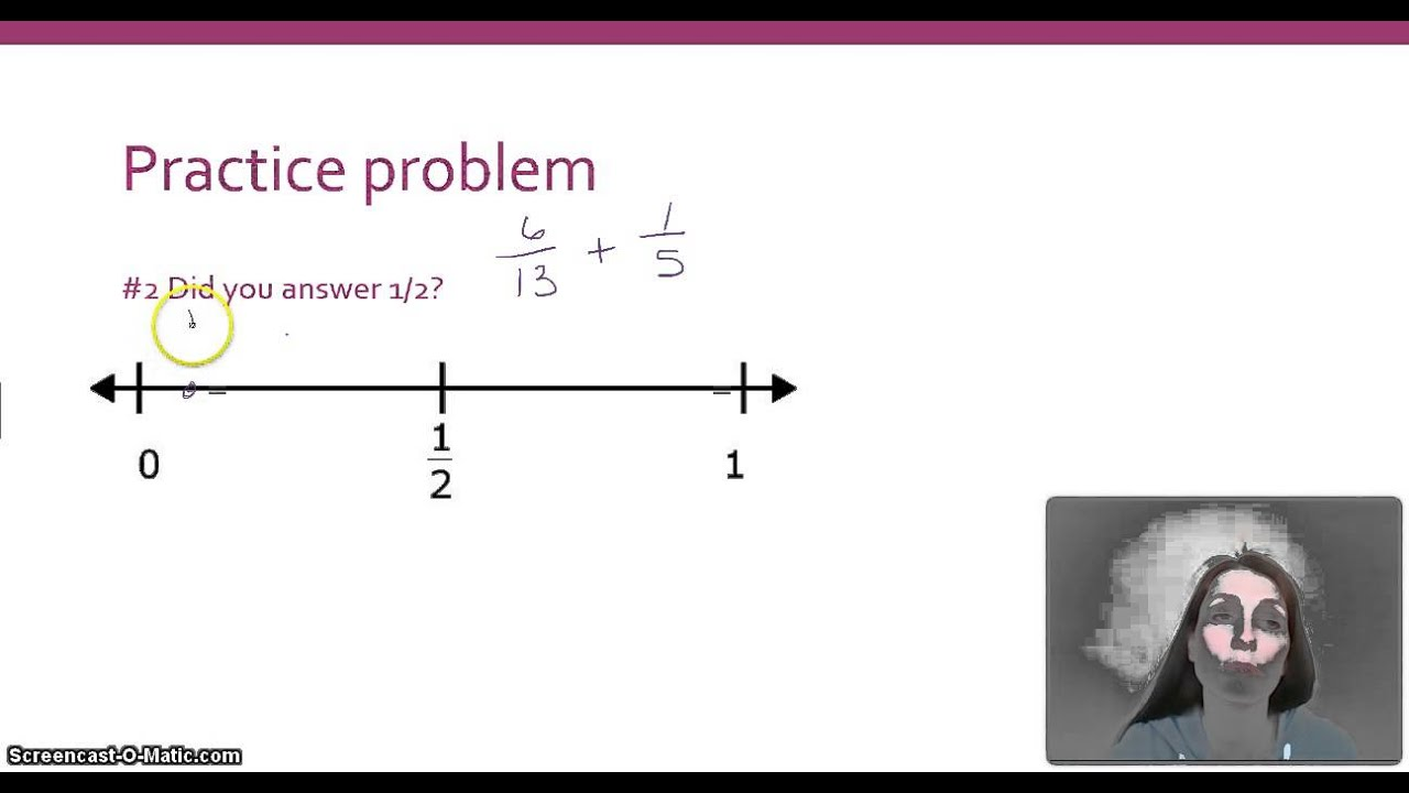 Envision Lesson 9 4 Estimating Sums And Differences In Fractions