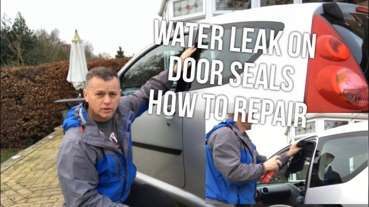 Door Seal Water Leak How To Repair Peugeot 107 Toyota Aygo Citroen C1