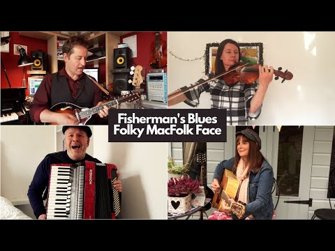 Fisherman's Blues | The Waterboys Cover | Folky MacFolk Face
