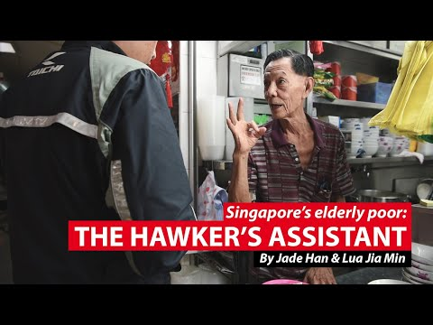 The Hawker's Assistant | Singapore's Elderly Poor | CNA Insider