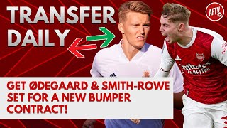 Get Ødegaard & Smith-Rowe Set For A New Bumper Contract! | AFTV Transfer Daily
