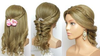 2 Cute And Easy Hairstyles With Long Hair Tutorial