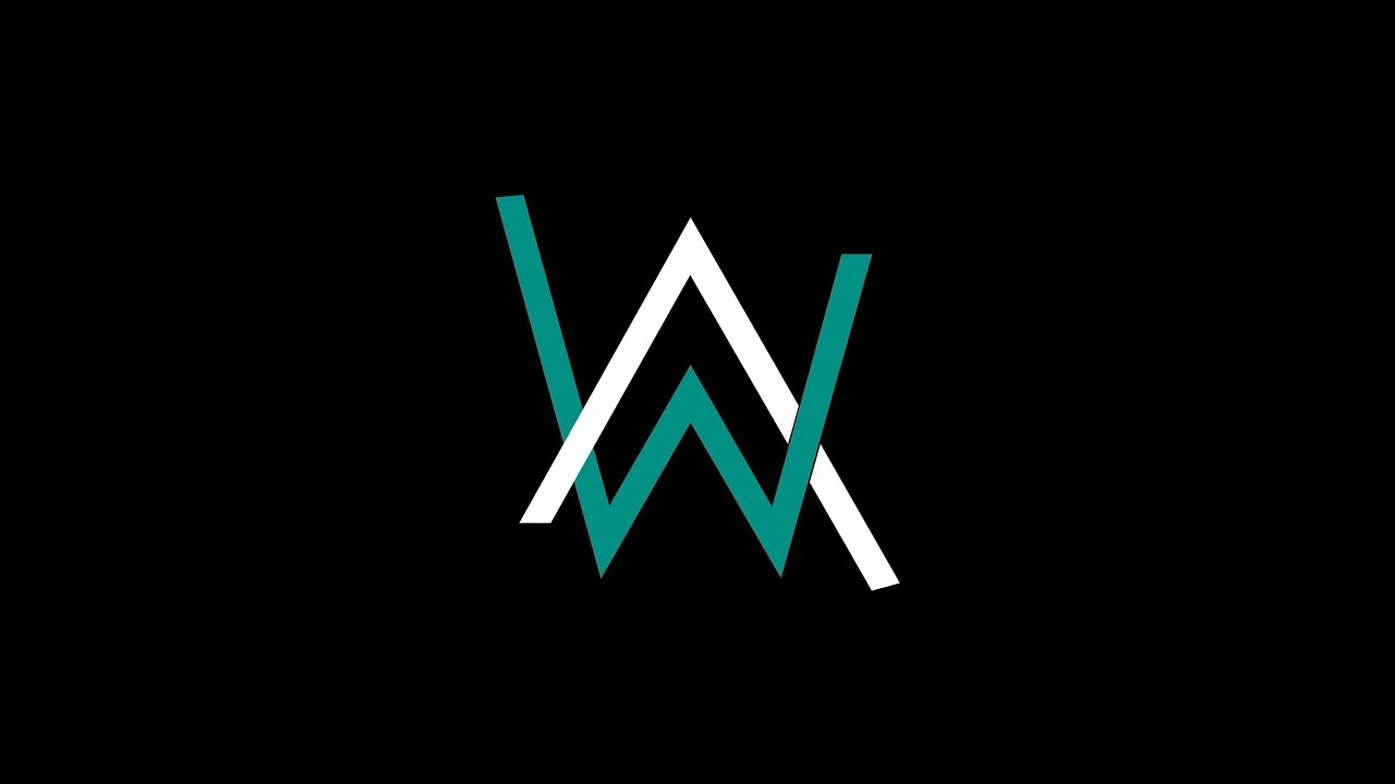 Alan Walker Tutorial Create Logo Youtube