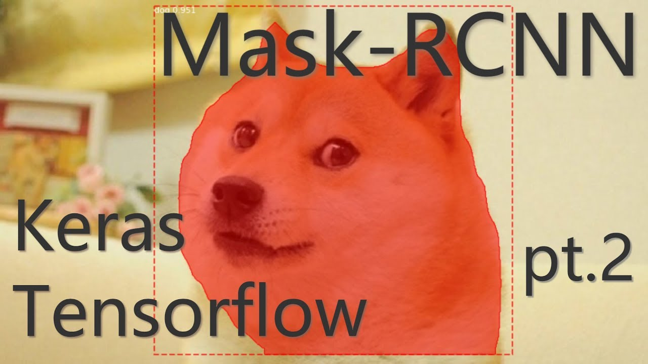 Mask RCNN with Keras and Tensorflow (pt 2) Real time Mask RCNN