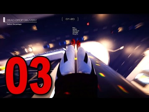 Mirror's Edge: Catalyst - Part 3 - DON'T LOOK DOWN! (PS4 Beta Gameplay Walkthrough)