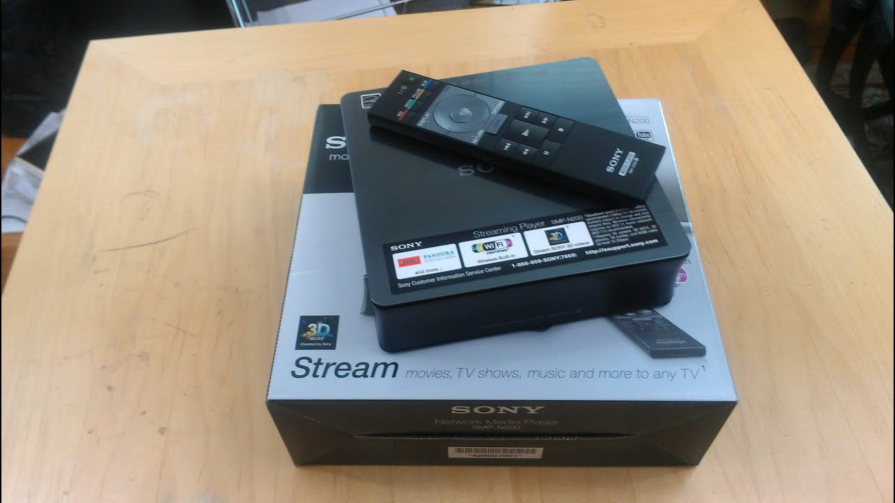 sony wireless media player smp n200 review youtube rh youtube com Sony TV Repair Manual Sony M 80 Manual