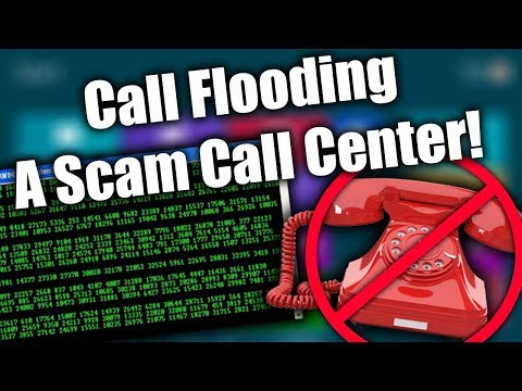 DESTROYING Scammers With A Call Flooder (300+ Calls)   Tech Support Scammers EXPOSED!