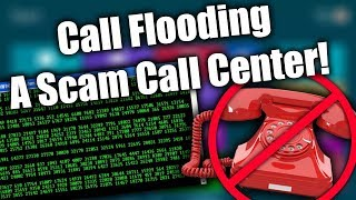 DESTROYING Scammers With A Call Flooder (300+ Calls) | Tech Support Scammers EXPOSED!