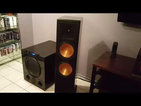 RF 7 klipsch speakers third gen how they sound with music