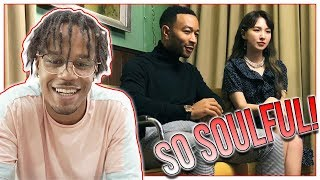 Reacting To John Legend X WENDY - Written In The Stars MV (Best Korean x American Collab?) mp3