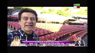 Hamid Shabkhiz Live Report from Greek Theater for Andy and She…