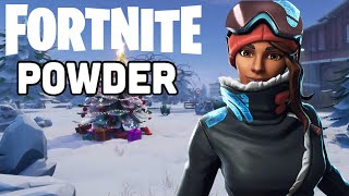 Fortnite Season 7 NEW POWDER Skin Gameplay!