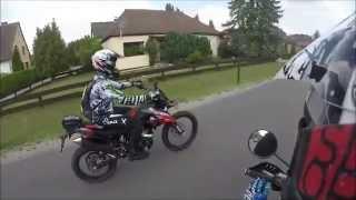 Yamaha Wr 125 x // Derbi DRD 125 r // Enjoy the last Sunshine 2014 // NGS